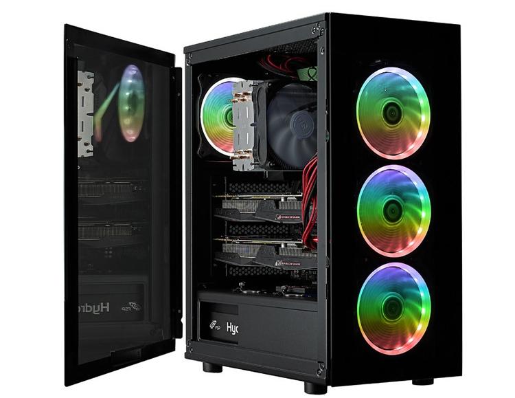 ПК-корпус FSP CMT340: закалённое стекло и вентиляторы с RGB-подсветкой