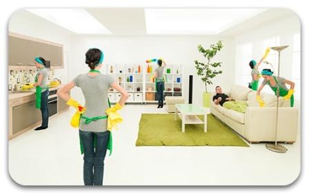 Уборка вашего дома или же офиса