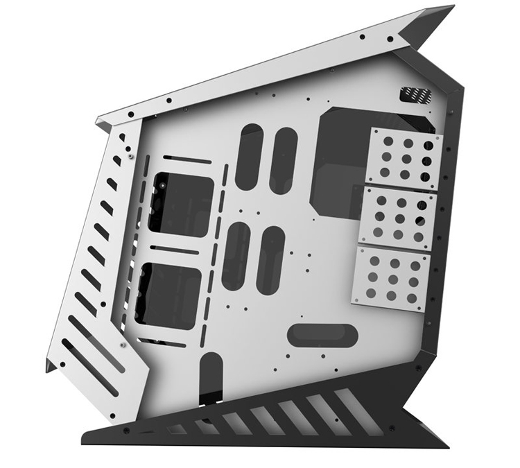 Корпус с подсветкой GameMax Ares предназначен для плат Micro-ATX
