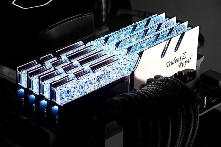 Новые комплекты DDR4-памяти G.SKILL на 64 Гбайт работают на частоте 4266 МГц