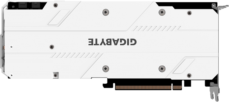 Видеокарта GIGABYTE GeForce RTX 2070 Gaming OC White 8G: белый кожух и RGB-подсветка