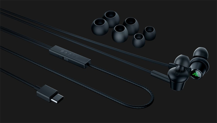 Razer Hammerhead USB-C ANC: наушники погружного типа с шумоподавлением