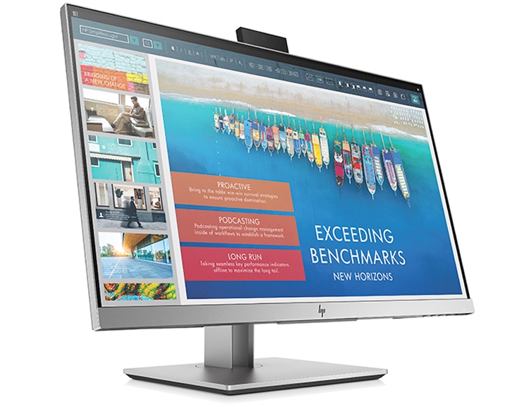 HP EliteDisplay E243d: монитор с веб-камерой и портом USB Type-C