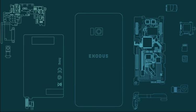 Блокчейн-смартфон HTC Exodus выйдет в декабре