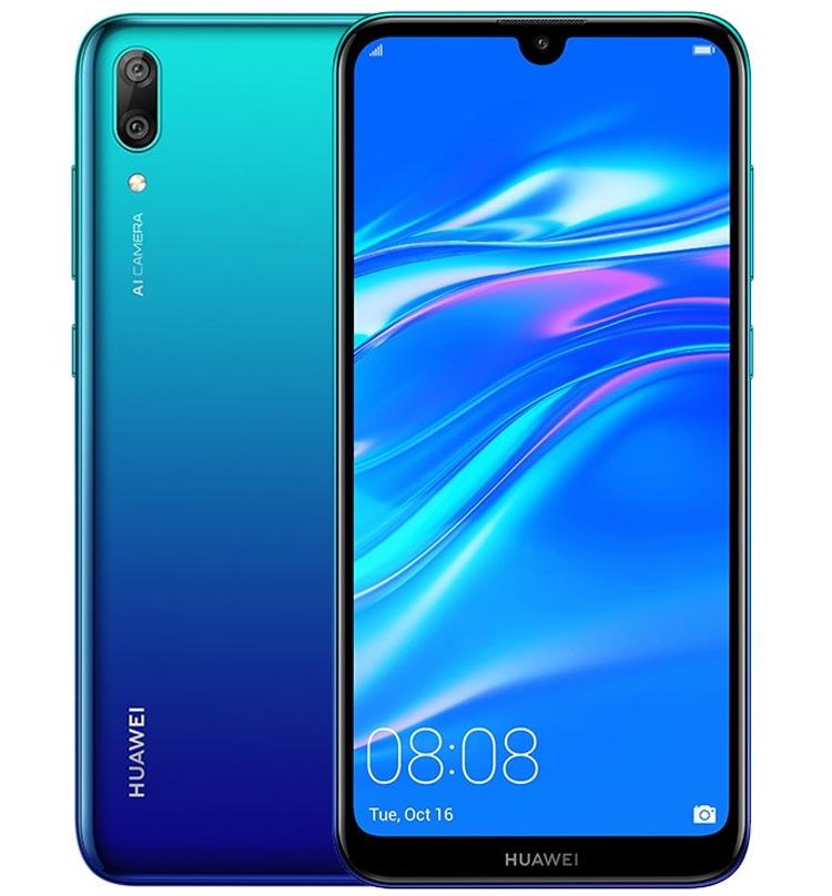 Huawei Y7 Pro 2019: смартфон с большим дисплеем HD+ и тремя камерами