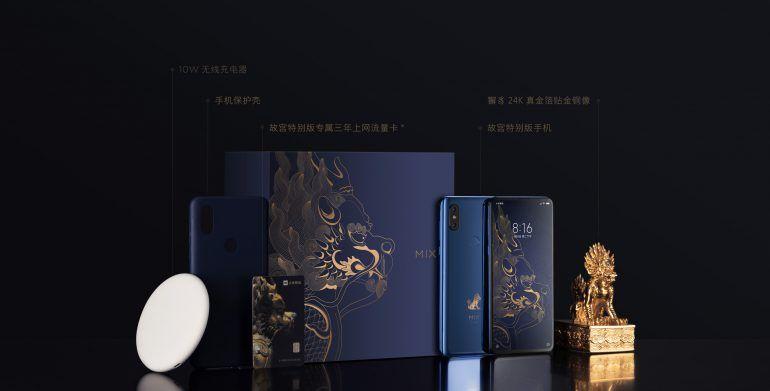 Xiaomi официально представила стильный смартфон-слайдер Mi Mix 3