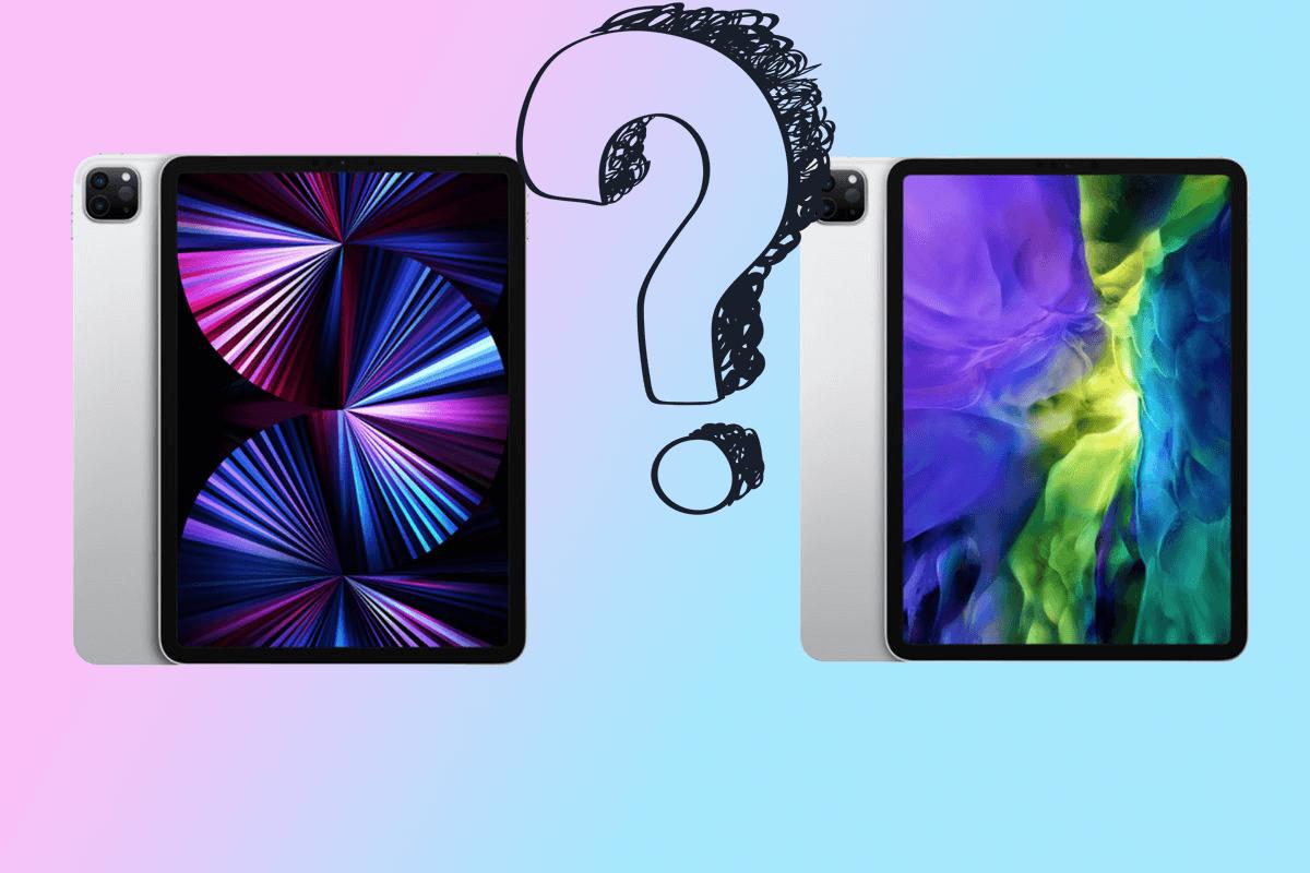 Сравнение iPad Pro (2021) и iPad Pro (2020): что нового и чем отличается