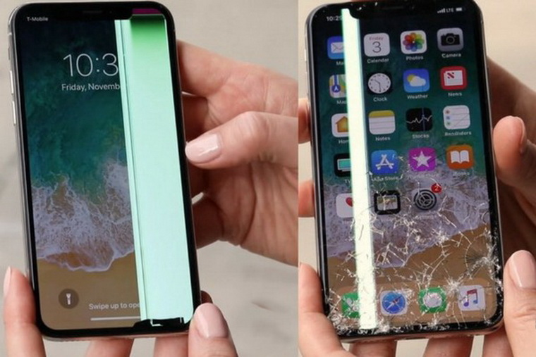 Ремонт  iPhone X - замена дисплея