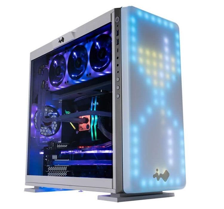 ПК-корпус In Win 307 с уникальной пиксельной панелью-дисплеем оценён в 5