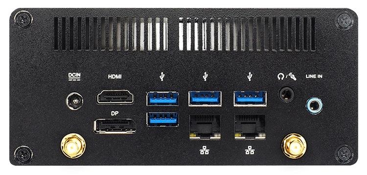 Jetway FCU792C: barebone-система на процессоре Intel Kaby Lake-U