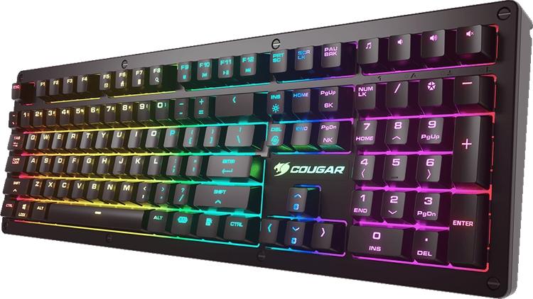 Cougar Puri RGB: механическая клавиатура для киберспортсменов