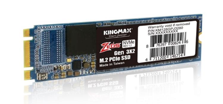Kingmax PJ3280: накопители M.2 PCIe SSD начального уровня