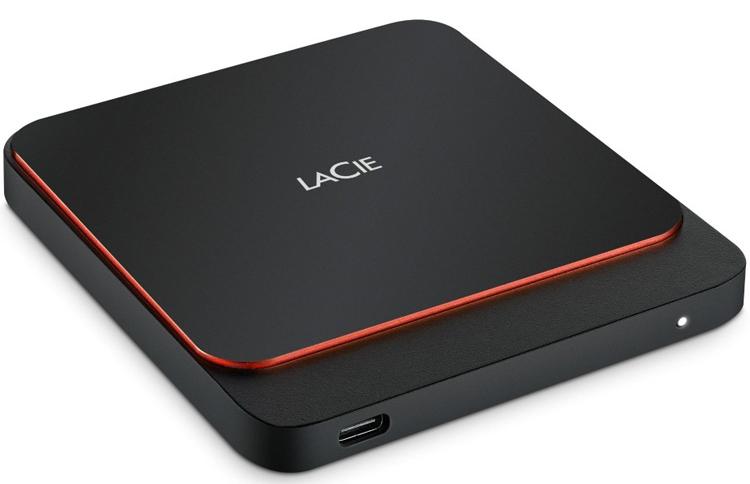 Карманный накопитель LaCie Portable SSD вмещает до 2 Тбайт данных
