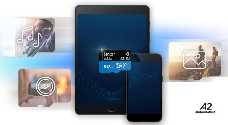Lexar представила microSD-карту App Performance Class 2 ёмкостью 512 Гбайт