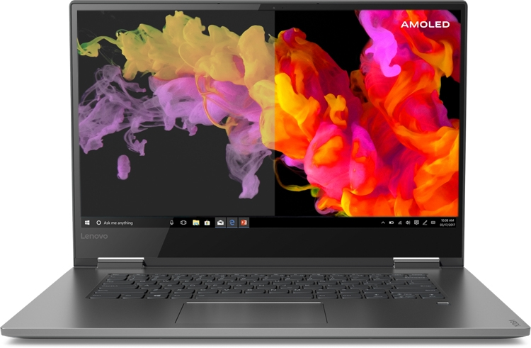 CES 2019: Ноутбук Lenovo Yoga C730 получил дисплей AMOLED 4К