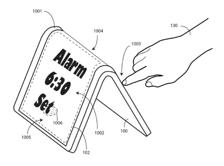 В Motorola предложен оригинальный способ взаимодействия с гибкими смартфонами