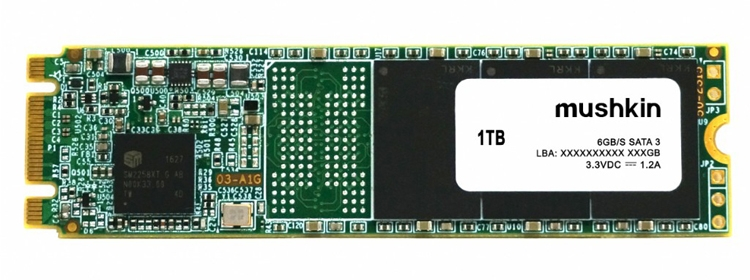 Ёмкость накопителей Mushkin Source M.2-SATA SSD достигает 960 Гбайт