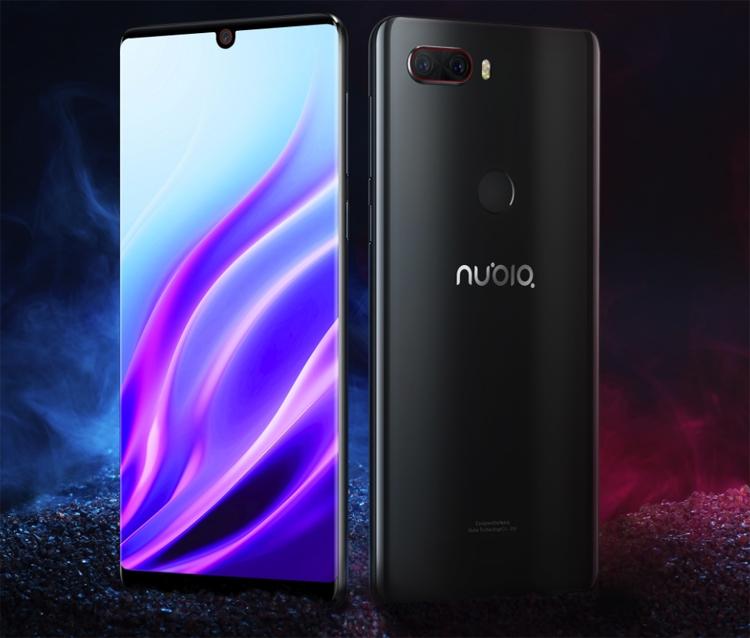Дебют смартфона ZTE Nubia Z18: безрамочный экран с вырезом и три камеры
