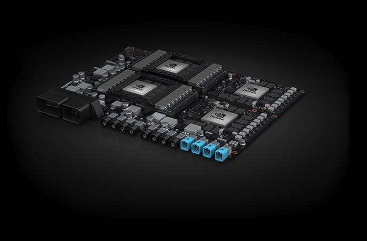Автомобили Volvo получат бортовой компьютер на платформе NVIDIA