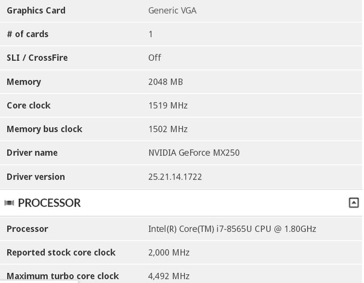 NVIDIA GeForce RTX 2070 Max-Q оказалась производительнее настольной AMD Radeon RX Vega 64