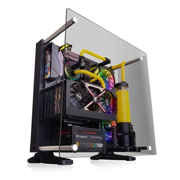 Thermaltake Core P3 Tempered Glass Curved Edition: корпус Open Frame для игрового ПК