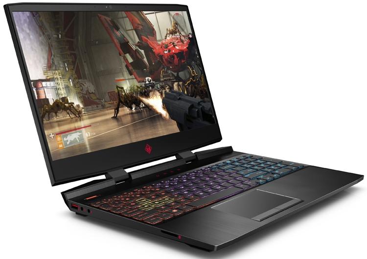 CES 2019: Игровой ноутбук HP OMEN 15 получил 240-Гц дисплей и адаптер Wi-Fi 6