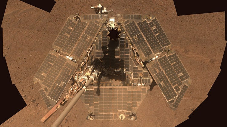 NASA: пылевая буря на Марсе утихла, но ровер Opportunity пока молчит