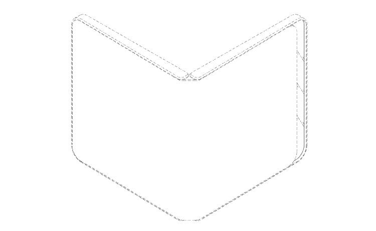 LG запатентовала смартфон-раскладушку с гибким дисплеем