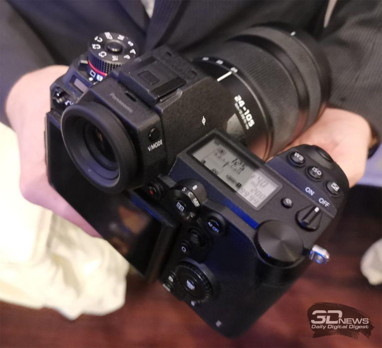 CES 2019: Полнокадровые беззеркальные камеры Panasonic Lumix S1R и S1