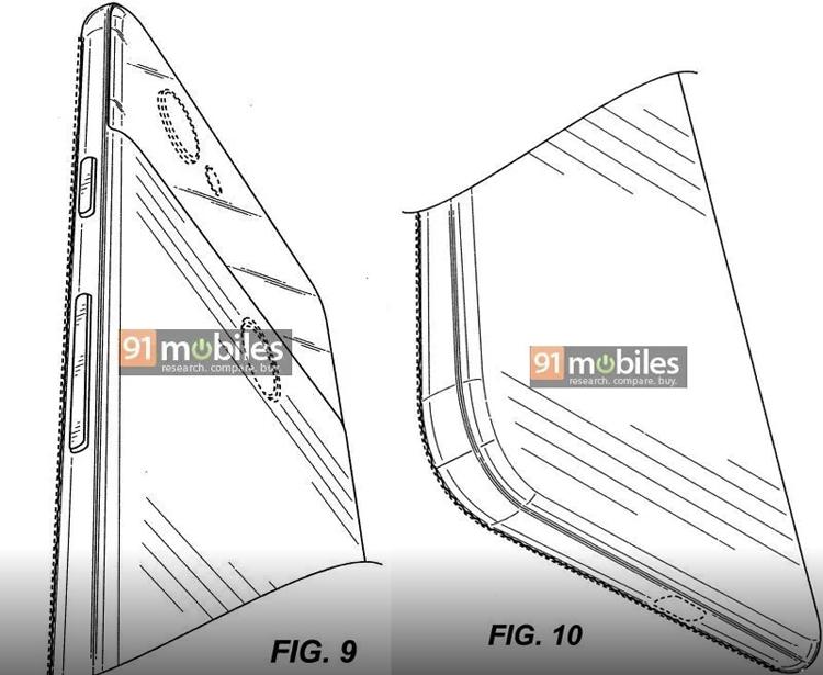 Патентная документация намекает на безрамочное исполнение смартфонов Google Pixel 4