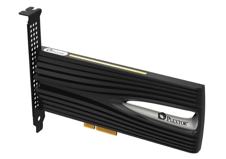 Computex 2018: накопитель Plextor M9Pe Extreme со скоростью чтения до 6500 Мбайт/с