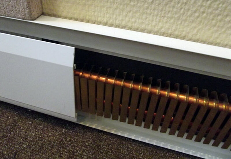 Внутрипольный конвектор для жилья, офисов, кабинетов