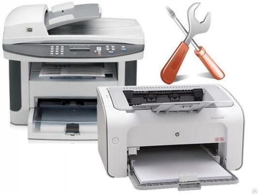 Как починить струйный принтер НР с гарантией