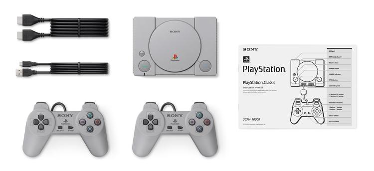 Sony PlayStation Classic: консоль с 20 предустановленными играми