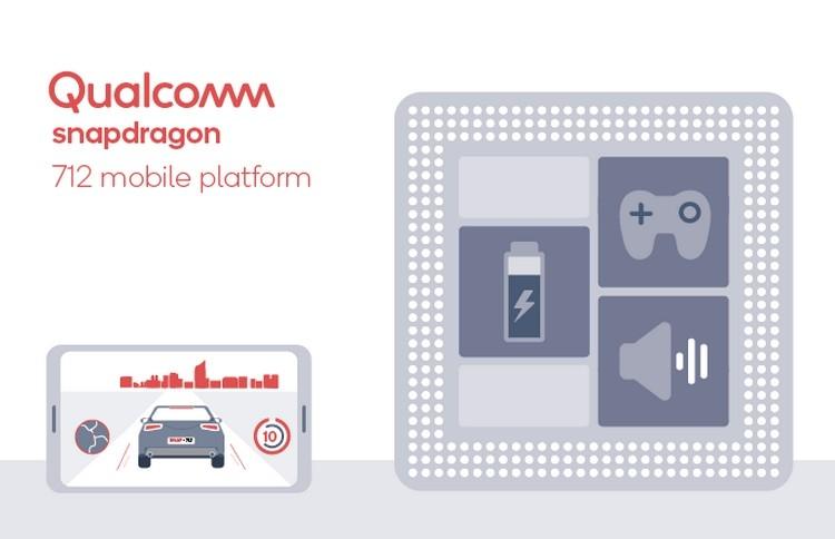 Qualcomm представила улучшенную платформу Snapdragon 712 для смартфонов среднего уровня