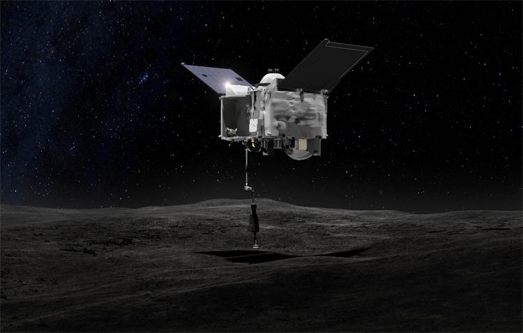 Зонд OSIRIS-REx успешно вышел на орбиту астероида Бенну