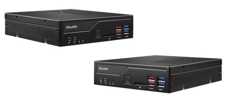 Shuttle XPC slim DH370: неттоп с процессором Intel Coffee Lake-S