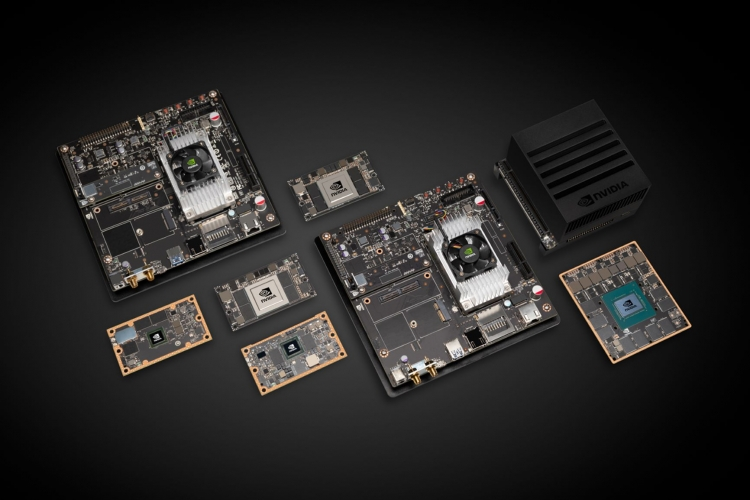 NVIDIA начала продажи модуля Jetson AGX Xavier для роботов за 00