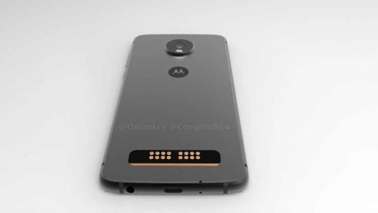 Moto Z4 Play получит каплевидный вырез и контакты для Moto Mod