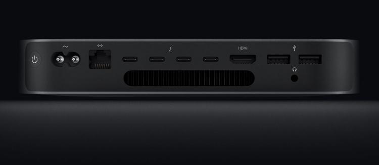 Новый Mac Mini оказался в пять раз мощнее предшественника