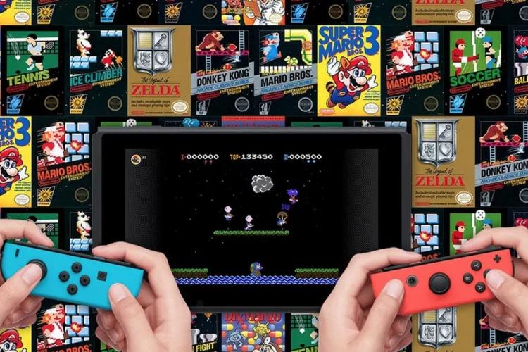 Стартовый список игр NES для Switch Online и контроллеры в стиле NES