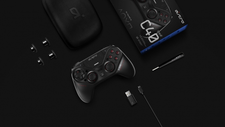Видео: контроллер ASTRO C40 TR выйдет для PS4 и ПК в марте 2019 года по цене 0