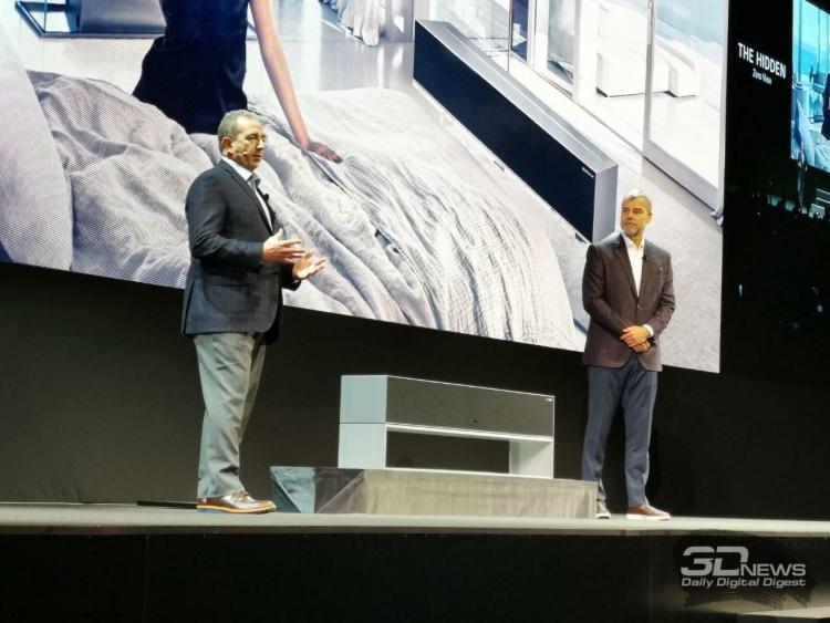 CES 2019: Сворачиваемый телевизор LG поступит в продажу в этом году