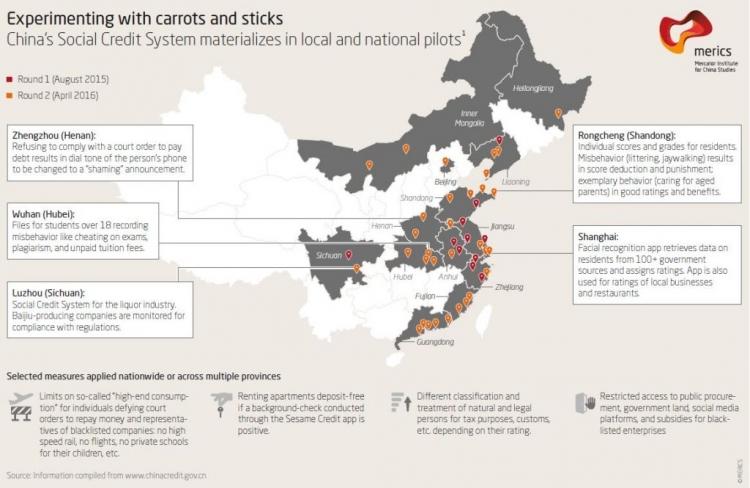 Цифровая система «общественного доверия» в Китае лишила миллионы права на авиаперелёты