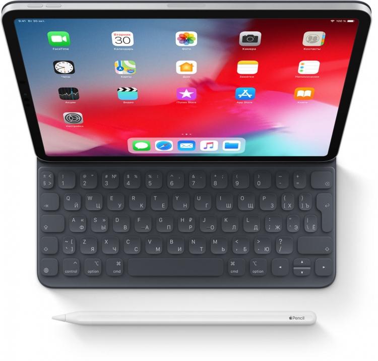 Планшеты iPad Pro получили новый дизайн, чип A12X и Face ID