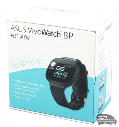 Новая статья: Обзор спортивных часов ASUS VivoWatch BP: и пионеру, и пенсионеру