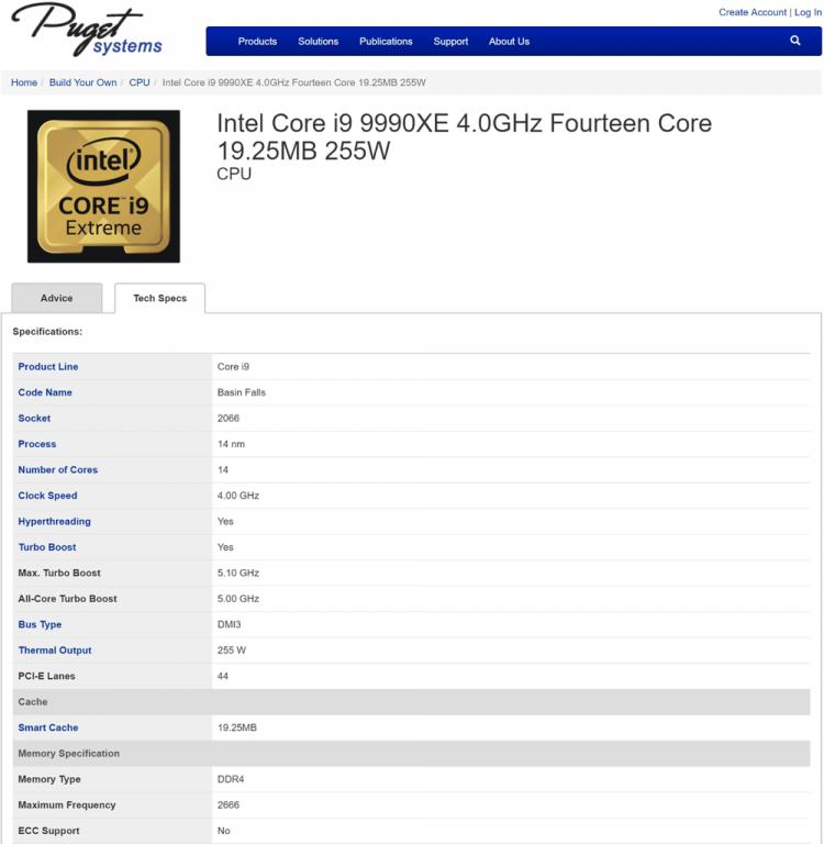 Победитель аукциона на Core i9-9990XE сетует на высокий нагрев процессора