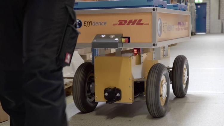 В 2019 году DHL инвестирует 0 млн в четырёхкратное увеличение количества роботов на складах
