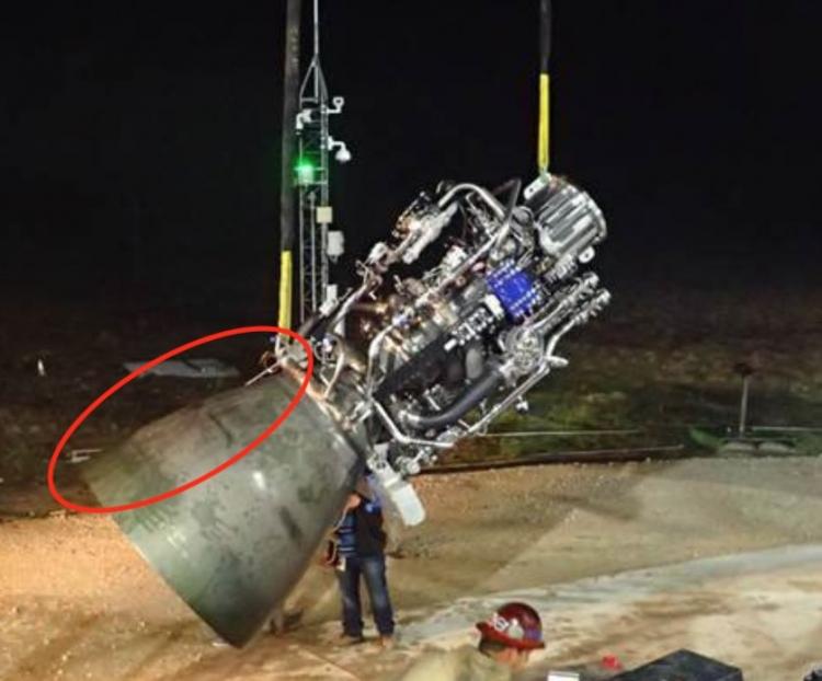 Глава SpaceX показал первые огневые испытания ракетного двигателя для межпланетного корабля