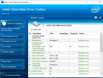 Новая статья: Обзор NVMe-накопителя Intel SSD 660p: уместна ли QLC-память в SSD для PCI Express?